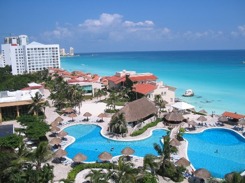 Vakantieresort Cancun Mexico
