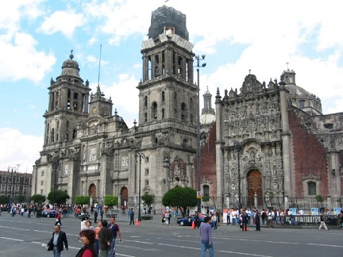 kathedraal van Mexico City